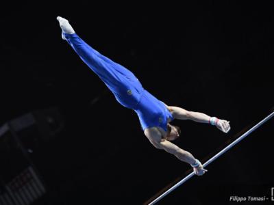 Ginnastica, Europei 2021: Carlo Macchini sbaglia un'infilata, la medaglia sfuma per un soffio