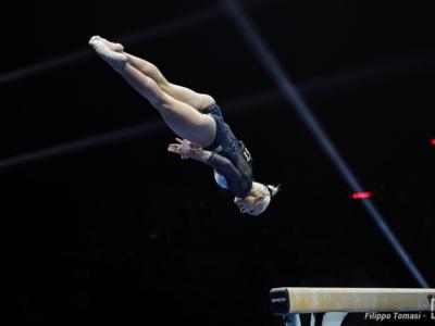 Ginnastica, Europei 2021: Martina Maggio e l'imprevedibile trave. Serve la danza perfetta, poi il corpo libero