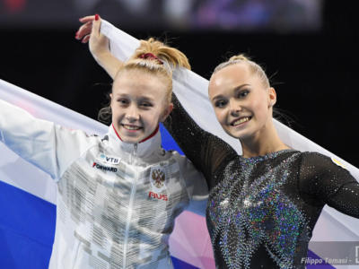 Ginnastica, Viktoriia Listunova reginetta agli Europei! Vince l'all-around a 15 anni, Melnikova battuta. Maggio 6^