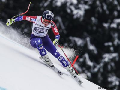 Sci alpino: Laurenne Ross e Alice McKennis salutano il Circo Bianco. Con loro Giordano Ronci