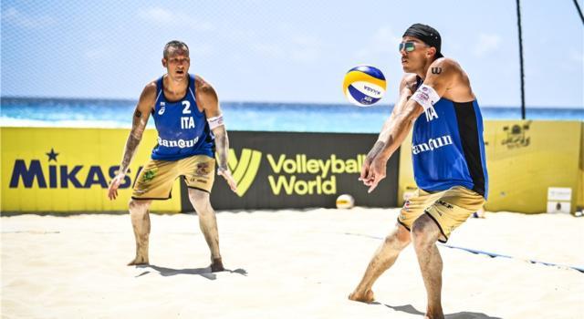 Beach volley, World Tour 2021 Cancun3. Abbiati/Andreatta: out con onore. Rossi/Carambula a caccia dei quarti nella notte