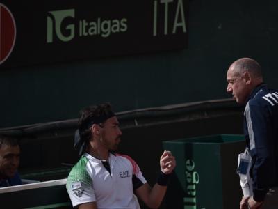 """Tennis, Corrado Barazzutti difende Fognini: """"Insultava se stesso, c'è stato un malinteso"""""""