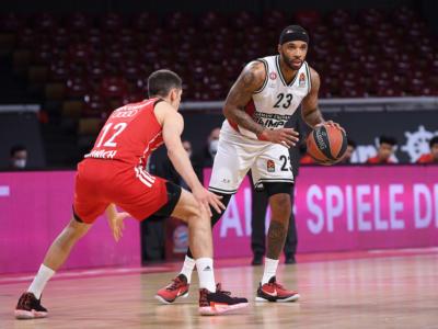 Basket, Playoff Eurolega 2021: domani gara-4 tra Bayern e Milano, secondo match-point per i meneghini