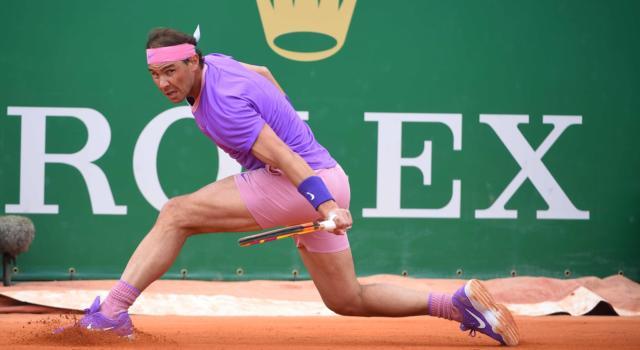 Masters 1000 Montecarlo: nel giorno nero per Djokovic e Zverev vanno avanti Nadal e Fognini