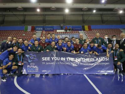 Calcio a 5, Qualificazioni Europei 2022: Italia, i convocati per le partite contro Belgio e Montenegro