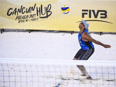 Beach volley, World Tour 2021 Cancun3. Rossi/Carambula avanti tutta! Stop per Abbiati/Andreatta