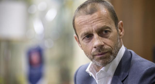 """Calcio, Aleksander Ceferin: """"Ammirevole ammettere lo sbaglio, avanti insieme"""""""