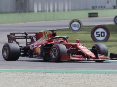 F1, la Ferrari ha guadagnato 8 decimi su Mercedes a Imola rispetto al 2020. I motivi