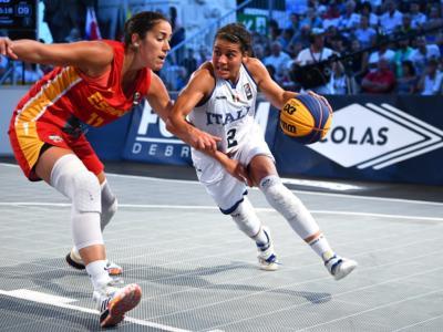 Basket 3×3, Preolimpico femminile: il calendario delle partite dell'Italia. Programma, orari, tv, streaming
