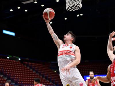Basket, Serie A 2021: Milano-Varese 81-83. Vittoria ospite nel giorno dei 3000 punti di Cinciarini