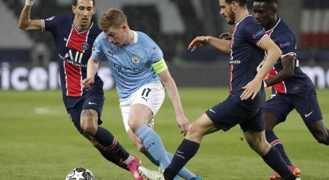 Calcio, Champions League: il PSG a caccia dell'impresa contro il Manchester City. In palio la finale