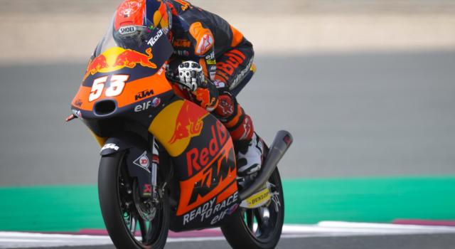 Moto3, risultati FP1 GP Portogallo 2021: Deniz Oncu svetta in un turno non indicativo, Fenati 6°, Migno 7°