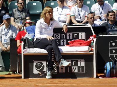 """Tennis, Olimpiadi Tokyo. Tathiana Garbin: """"Camila Giorgi sta dando l'anima. E' centrata e dimostra attaccamento alla nostra nazione"""""""
