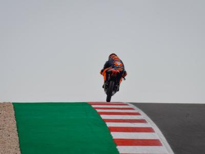 Moto3, risultati Warm-up GP Portogallo 2021: Jaume Masià comanda un festival spagnolo, Migno 6°, Fenati 8°, Foggia 9°