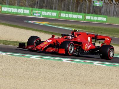 """LIVE F1, GP Imola in DIRETTA: la Ferrari sorride. Leclerc: """"La macchina va alla grande"""". Binotto pensa al 2022"""
