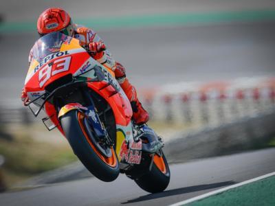 """MotoGP, Marc Marquez: """"Mi sono sentito peggio oggi, domani sarà ancora più dura. Non escludo di ritirarmi in gara"""""""