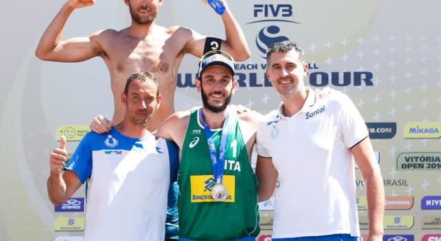 Beach volley, Matteo Varnier soddisfatto del cammino di Paolo Nicolai (prossimo papà) e Daniele Lupo