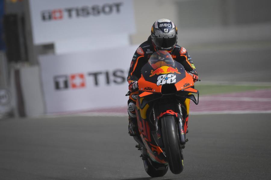 """MotoGP, Miguel Oliveira: """"Ho fatto al gatto e il topo con Marquez, si aggiunge alla lista di podi"""""""