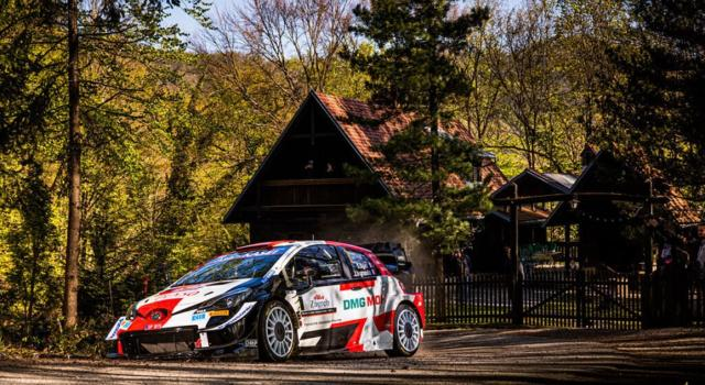 Rally Croazia 2021, Sébastien Ogier il migliore al termine della seconda giornata, inseguono Evans e Neuville