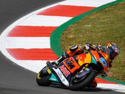 Moto2, Remy Gardner in vetta alle FP3 del GP di Spagna. 2° un ottimo Di Giannantonio, bene anche Bezzecchi