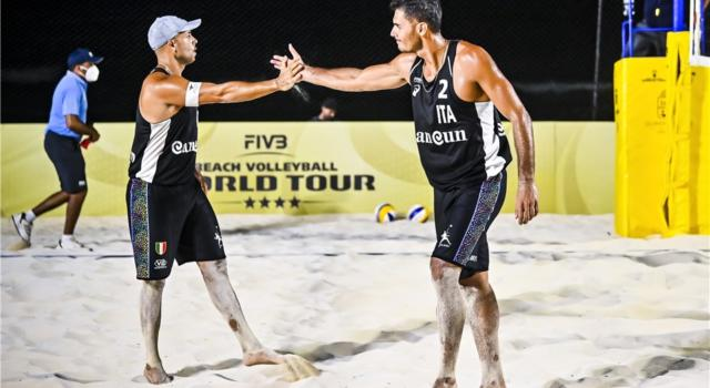 Beach volley, World Tour 2021, Ostrava. Subito derby azzurro Windisch/Cottafava-Rossi/Carambula. Girone di ferro per Lupo/Nicolai