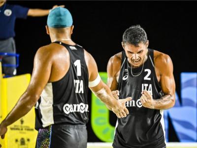 Beach volley, World Tour Cancun3. Rossi/Carambula battono i messicani e continuano a rincorrere le Olimpiadi