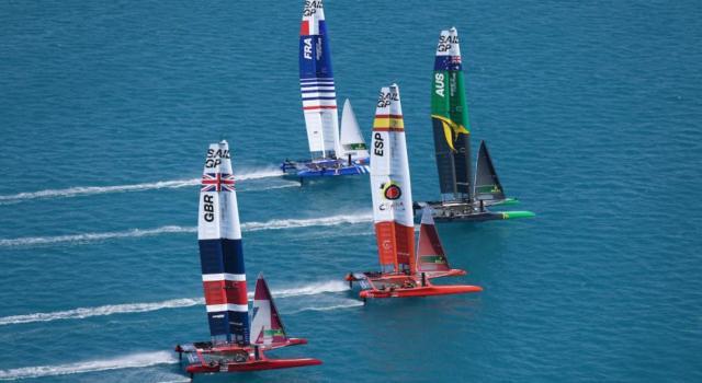 SailGP, tripletta australiana nel day-1 alle Bermuda! Francesco Bruni 3° con il Giappone, in difficoltà Ainslie e Burling