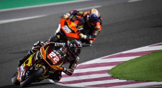 Moto2, GP Doha 2021: risultati FP3. Lowes davanti a Bezzecchi, il vento condiziona le prove libere