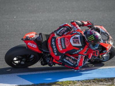 Superbike, Scott Redding e Michael Ruben Rinaldi impressionano nei test di Aragon, Tito Rabat accumula chilometri