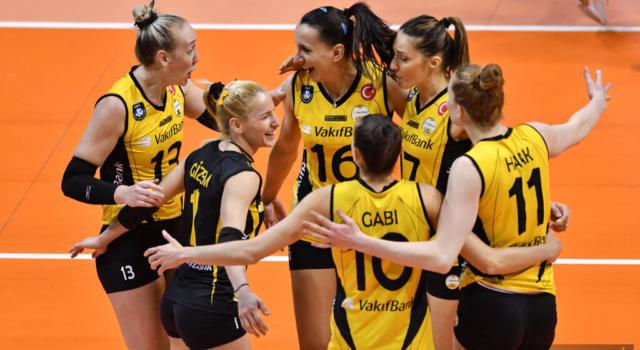 Volley femminile, Finale Champions League. Il Vakifbank ha quasi sconfitto il primo rivale, il Covid