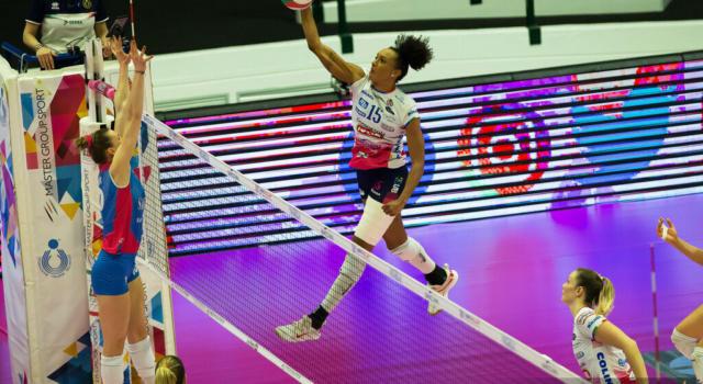 Volley femminile, play-off 2021 finale. Primo match ball per Conegliano ma Novara ora sa che può vincere