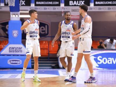 Basket, 26ma giornata Serie A 2021: Brindisi nuova capolista. Milano sconfitta e raggiunta anche dalla Virtus Bologna