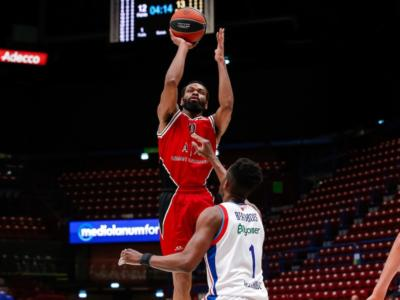 Basket, Eurolega 2021: l'Olimpia Milano domina contro l'Efes e si prende il quarto posto