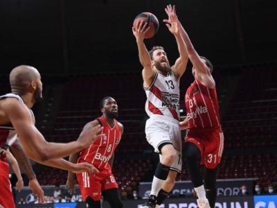 Basket, Playoff Eurolega 2021: l'Olimpia Milano manca il primo match point. Il Bayer Monaco comanda dall'inizio alla fine