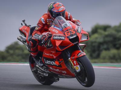 MotoGP, Francesco Bagnaia risponde presente su una pista favorevole alla Ducati