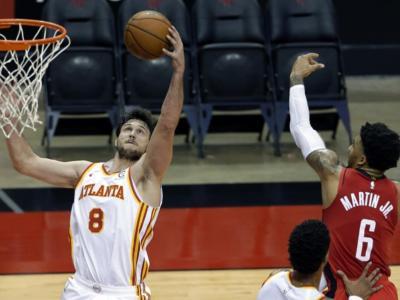 NBA 2021, i risultati della notte: Gallinari trascina Atlanta, i Clippers dominano il derby