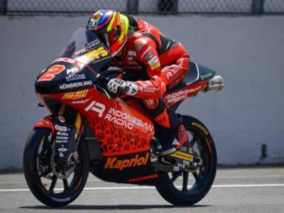Moto3, risultati warm-up: Gabriel Rodrigo detta il passo, Riccardo Rossi il migliore degli italiani