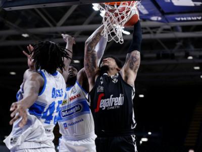 LIVE Virtus Bologna-Treviso 91-72, Serie A basket in DIRETTA: la Segafredo si aggiudica gara-1 della serie