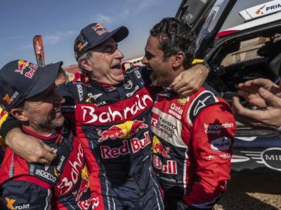 Dakar 2022, Audi pensa alla coppia meraviglia Sainz Sr-Peterhansel