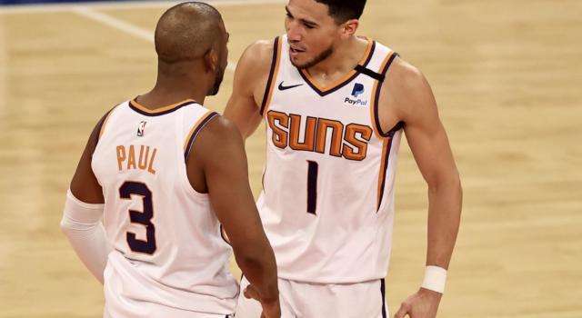 NBA Playoff 2021, i Phoenix Suns surclassano i Denver Nuggets e volano sul 2-0