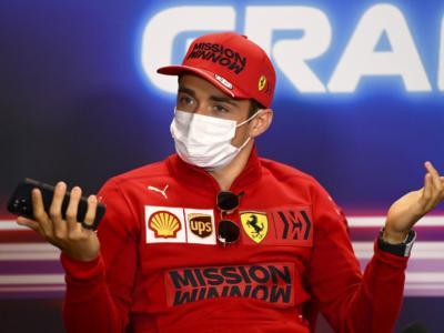 """F1, Charles Leclerc: """"E' colpa mia se non siamo quinti. Vicini alla McLaren perdiamo un decimo e mezzo"""""""
