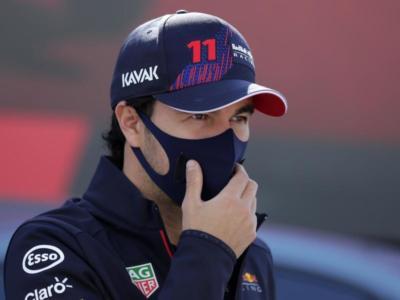 """F1, Sergio Perez: """"Pomeriggio molto impegnativo. Non ho potuto fare la mia gara, bloccato dietro Ricciardo"""""""