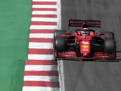 F1, la Ferrari esce ridimensionata da Portimao. Brutta sberla alle ambizioni di Maranello