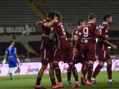 Calcio, Serie A 2021: Vojvoda regala i tre punti al Torino. Il Parma retrocesso aritmeticamente in B