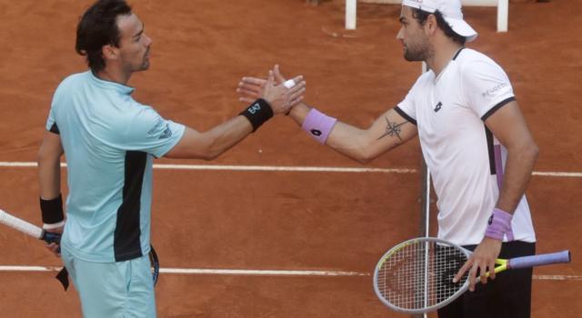 VIDEO Berrettini-Fognini, highlights e sintesi ATP Madrid. Vittoria in due set per il romano