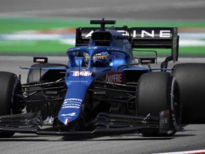 """F1, Fernando Alonso: """"Oggi è stato un buon venerdì. Nel complesso sono soddisfatto delle nostre due sessioni"""""""