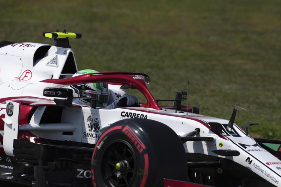 """F1, Antonio Giovinazzi: """"Oggi la Q3 era fuori portata. Essere di nuovo in Q2 è grandioso per il team"""""""