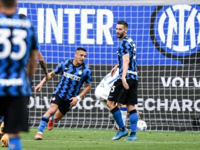 Calcio, Serie A 2021: l'Inter dilaga con la Sampdoria nell'anticipo della 35ma giornata