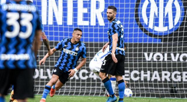 Calcio, Serie A 2021: l'Inter dilaga con la Sampdoria nell ...