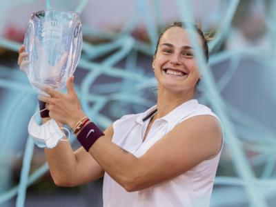 Tennis, Ranking WTA (10 maggio): Sabalenka al quarto posto con l'urrà di Madrid. Jasmine Paolini risale 10 posizioni